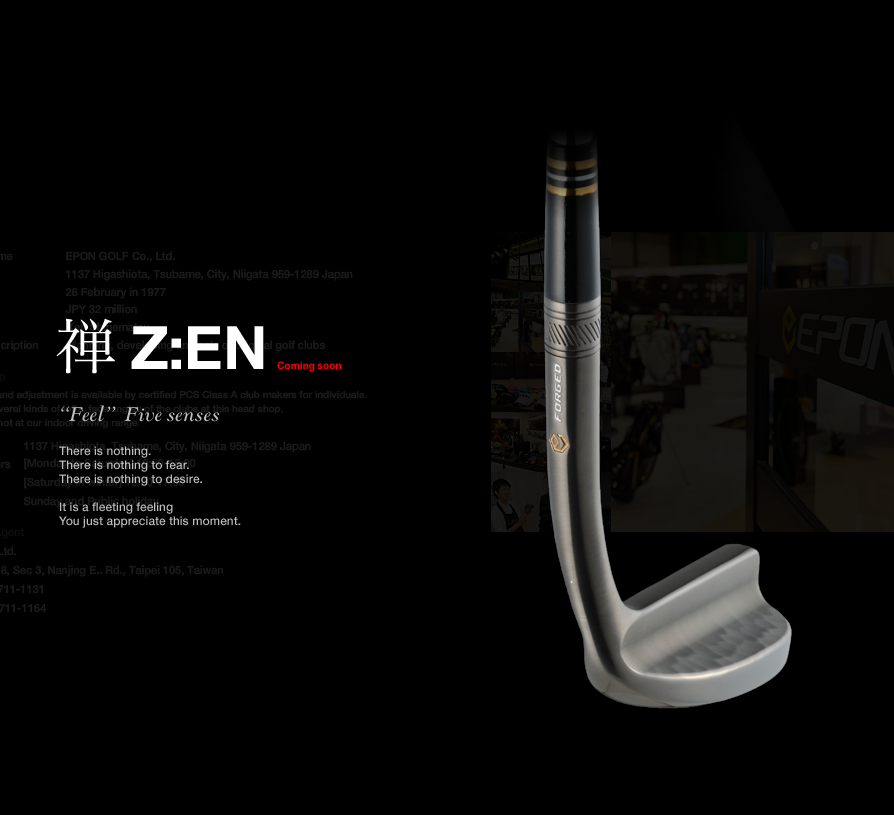 "New Epon ""Zen"" Putter - Straight from website - Japanese Golf Clubs -  Japanese Golf Clubs at Golf To Impress"